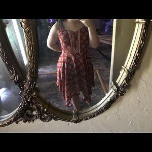 Symmetrical dress